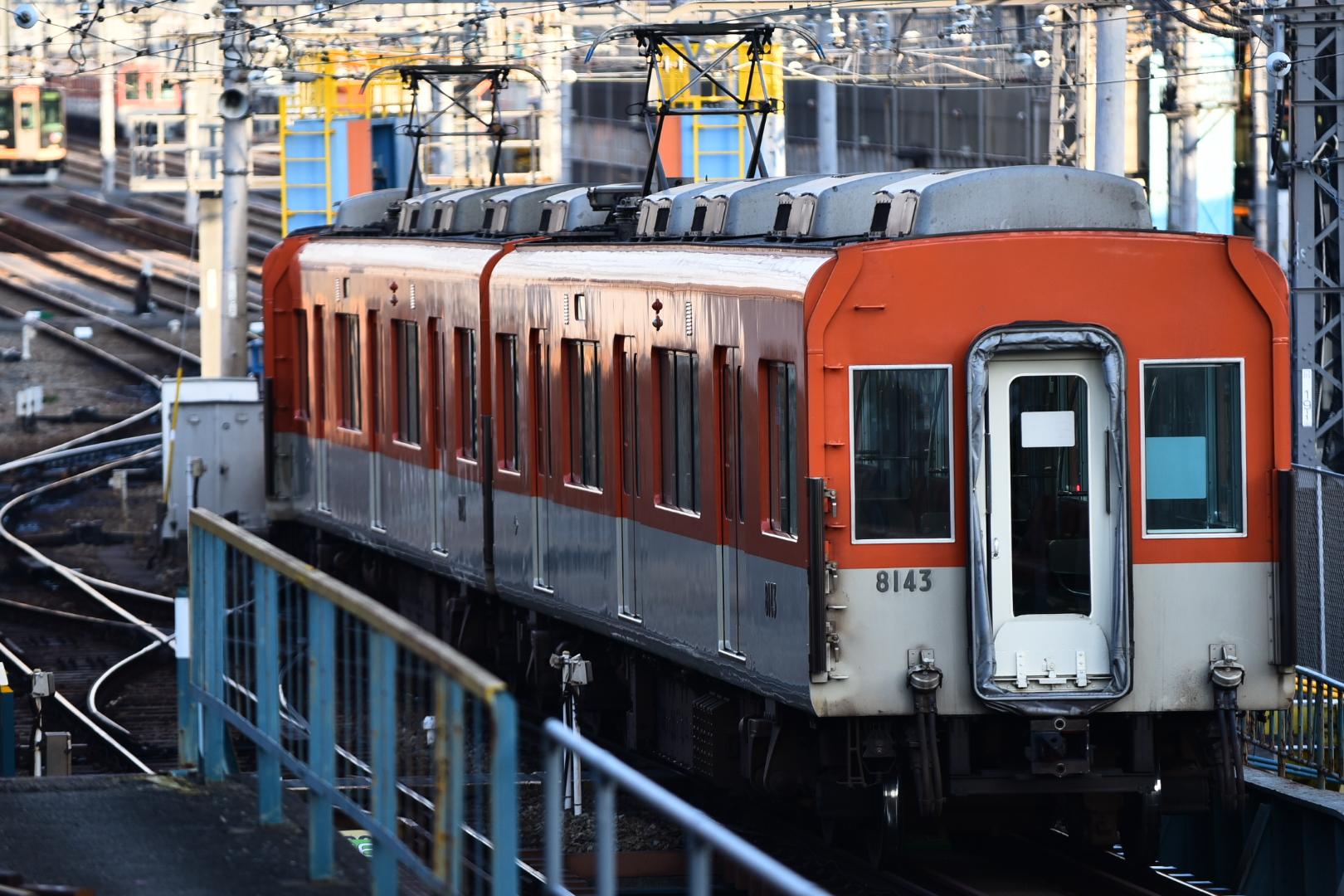 【撮った】2018/03/03 8241f 神戸方ユニット出場試運転
