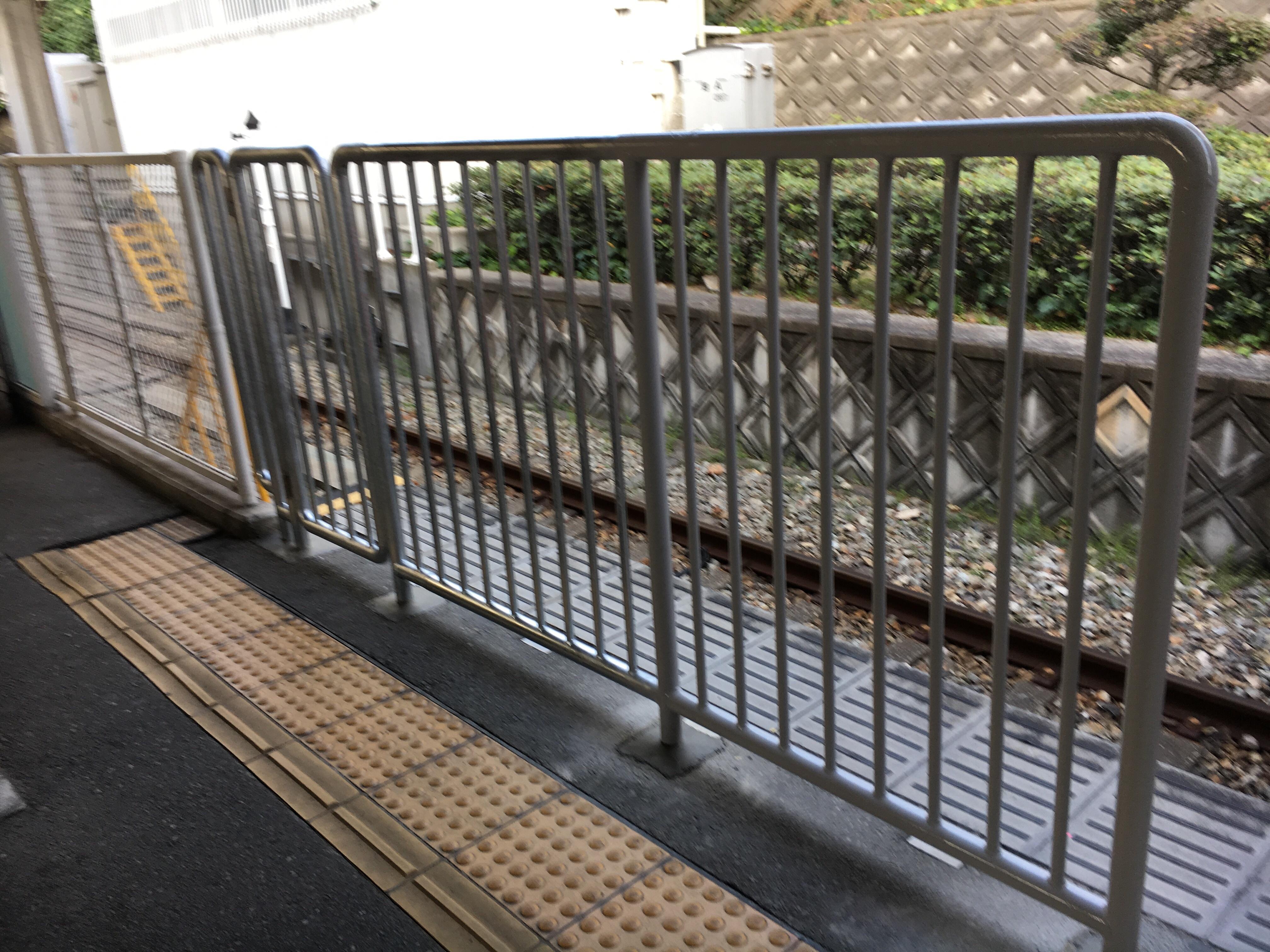 いつもと違う武庫川駅