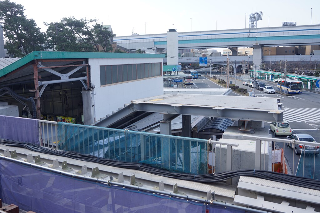 阪神本線連続立体交差事業・甲子園駅(1-7・鳴尾工区)