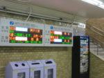 コンコース案内表示器 阪神電車 発車標
