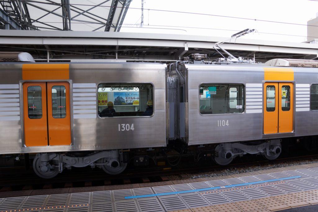 阪神1204F 試運転