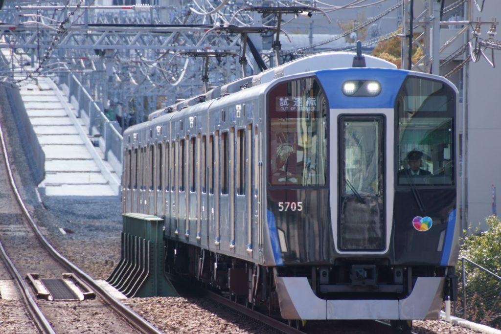 阪神5705F 試運転