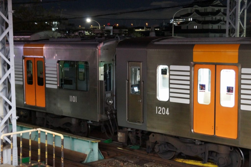 阪神電車・魅惑の入換