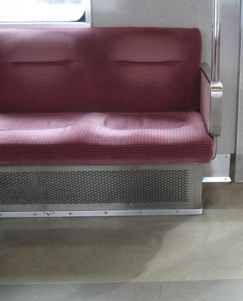 阪神9000系 旧モケット