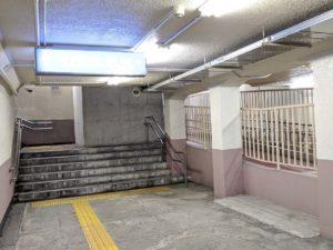 今は希少な地下駅舎