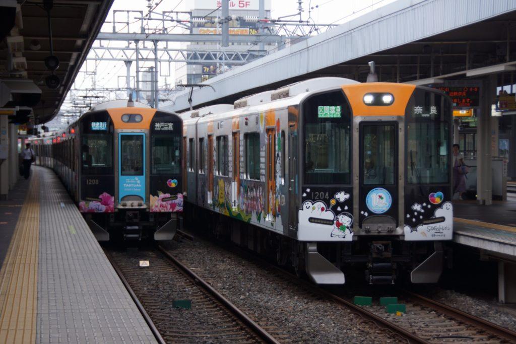阪神1000系の編成毎の差異
