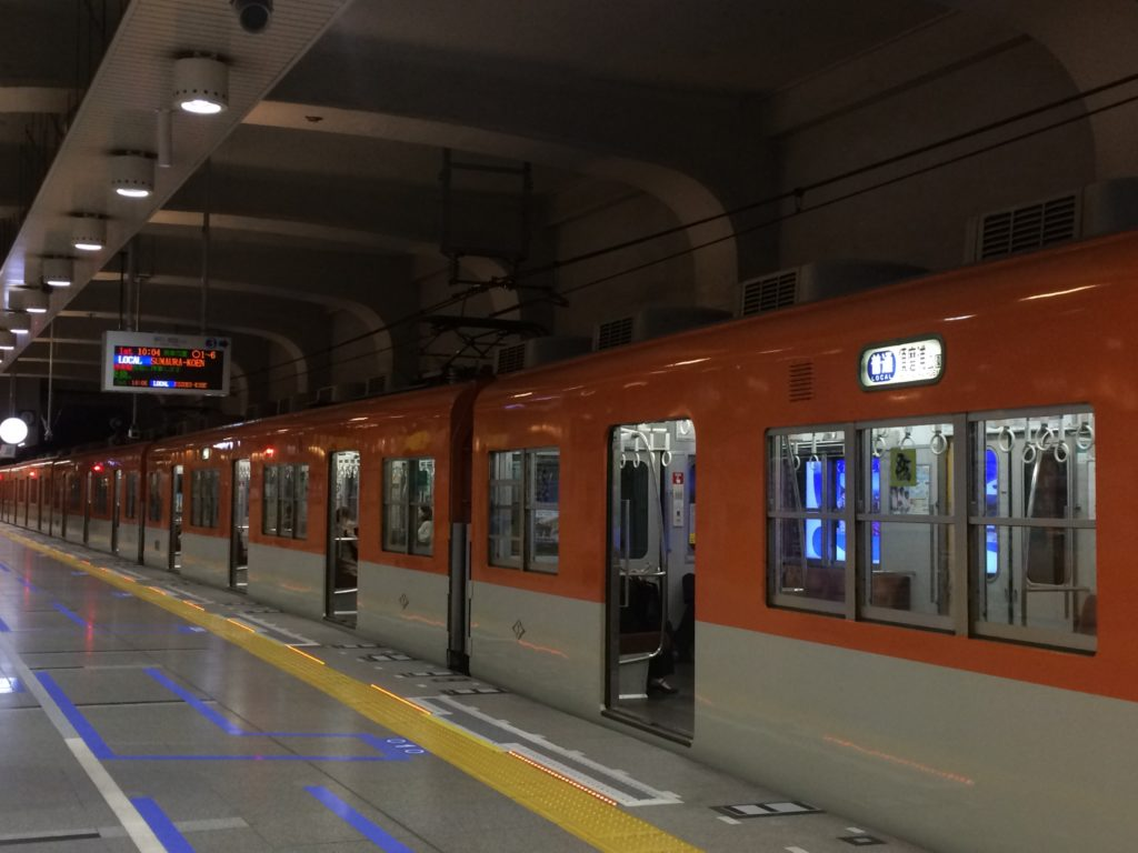 阪神神戸三宮駅ホーム柵設置(1・3番線)