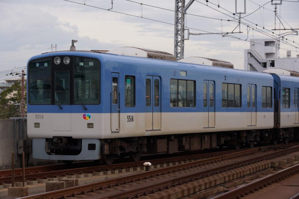 阪神5500系全編成側面写真資料集